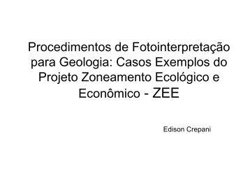 Procedimentos de Fotointerpretação para Geologia ... - INPE-DGI