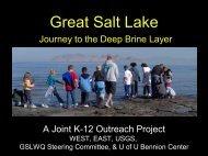 WEST: Holly Godsey - Great Salt Lake Advisory Council