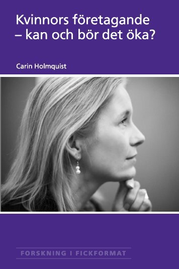 Carin Holmquist - Handelshögskolan i Stockholm