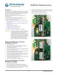 NX-SIMM Type III Upgrade Instructions - UTCFS Global Security ...