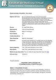Fitodermatología y Fitoestética – 5ta. edición Objetivos del ... - FMV
