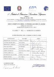 SINTETICA DESCRIZIONE DELLA SCUOLA - Liceo Platone