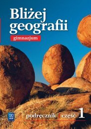 Bliżej geografii, Klasa 1 (GIM)