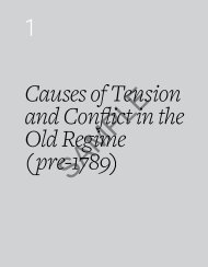Causes of Tension and Conflict in the Old Regime (pre ... - HTAV