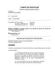 2003/07/28 - Ordre des évaluateurs agréés du Québec