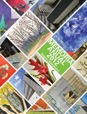MEMORIA ANUAL 2012 - Banpro