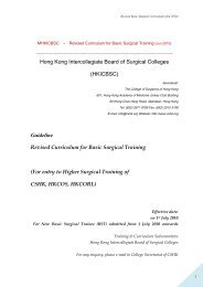 Guideline Revised Curriculum for Basic Surgical Training
