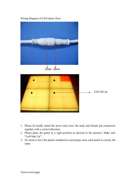 Fantastic Wiring Diagram Of Led Dance Floor 1 Please Be Kindly Wiedamark Wiring Digital Resources Remcakbiperorg