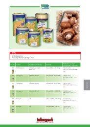 Konserven Art.-Nr. Artikel Produktbeschreibung Gebinde ... -  Intergast