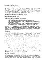 Novosti, ki se nanašajo na pridobitev državljanstva ... - Glas Slovenije