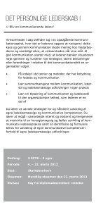 KURSER FOR LEDIGE - KEA - Page 5