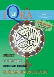 Iqra kuukiri nr.22 - Islam