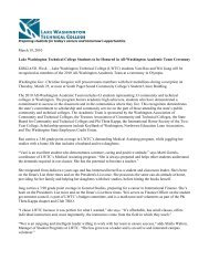 Two students earn All-Washington Academic Team honors - Lake ...