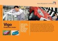 Production Center - PSA - Site Vigo - PSA Peugeot Citroën