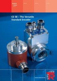 CE 58 – The Versatile Standard Encoder - TR Electronic