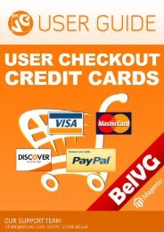 User Checkout Credit Cards - BelVG Magento Extensions Store