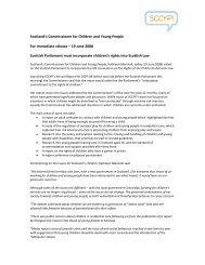 annual report 200806.pdf - Scotland's Commissioner for Children ...