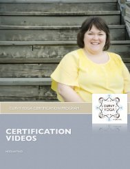Certification videos access - Curvy Yoga