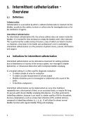 1. Intermittent catheterization - European Association of Urology - Page 7