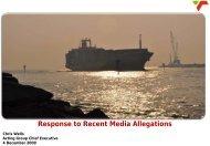 Presentation to the Media 4 December 2009 - Transnet