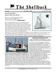 November - Master Mariners Benevolent Association