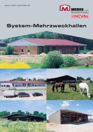 System-Mehrzweckhallen - Menke Systembau GmbH