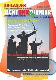 Ausschreibung als PDF - Bogensport im SV Oyten eV