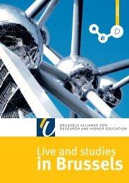 in Brussels - Université Libre de Bruxelles