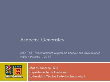 Aspectos Generales - Universidad Técnica Federico Santa María