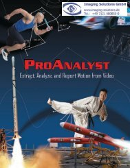 ProAnalyst Brochure - Imaging Solutions GmbH