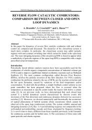 comparison between closed and open loop dynamics