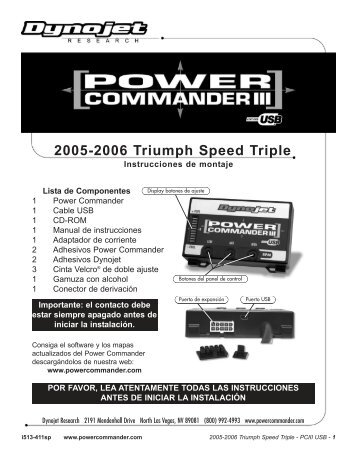 2000 2004 Bmw F650 Gsdakar Power Commander