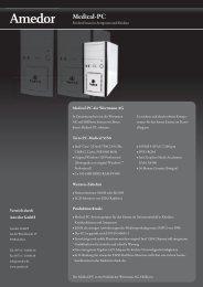 Amedor Medical-PC - Amedor GmbH