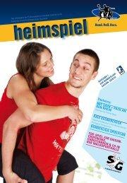 Das Infomagazin der TV Korschenbroich Handball GmbH