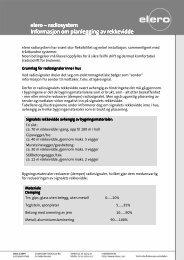 Informasjon om planlegging av rekkevidde (PDF) - elero