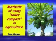 """Methods of using """"toilet compost"""" in agriculture - EcoSanRes"""