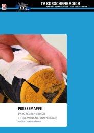 TVK-Pressemappe - TV Korschenbroich Handball
