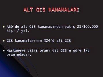 Alt GIS Kanamaları