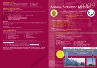 important dates registration procedure call for abstracts