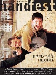 FREMDER FREUND - Handfest-Online