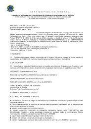 Pregão Eletrônico n° 001/2012 - Crefito5