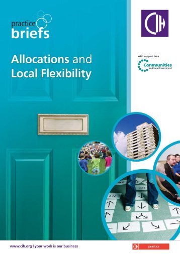 Allocations and Local Flexibility - Chartered Institute of Housing