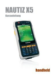 Kurzanleitung - Handheld Group