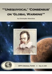 """""""'Unequivocal' 'Consensus' on 'Global Warming'"""""""