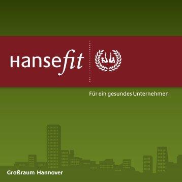 Info Hannover - bei Hansefit