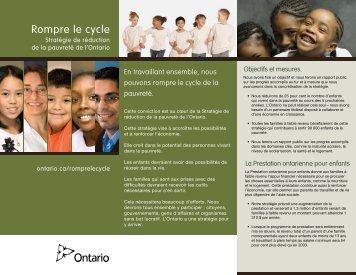 Télécharger les faits saillants (PDF) - Ontario.ca