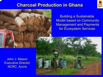 Sustainable charcoal in Ghana - the Katoomba Group