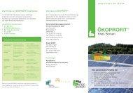 ÖKOPROFIT® - WFG für den Kreis Borken mbH