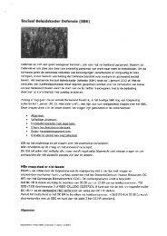 FAQ - Sociaal Beleidskader (SBK) - ProDef