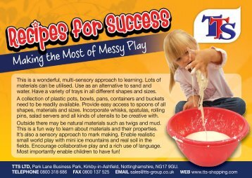 Making the Most of Messy Play - TTS